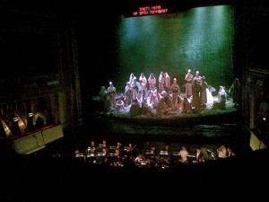 va pensiore, Verdi Nabucco, Belgrade