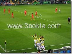 fenerbahçe kayserispor maçı 2. gol sonrası sevinç