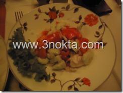 srpska salata sırp salatası zlatni bokal restaurant belgrad