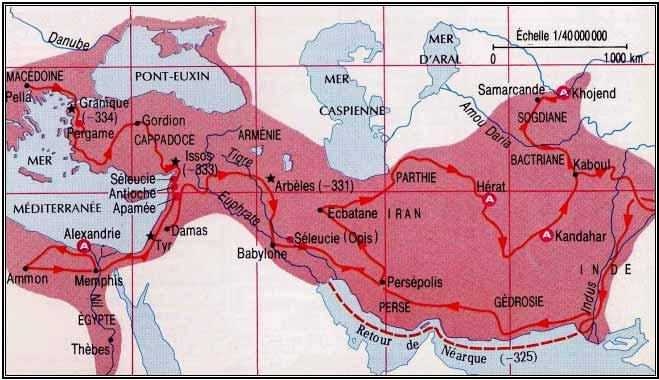 Büyük İskender in yolu