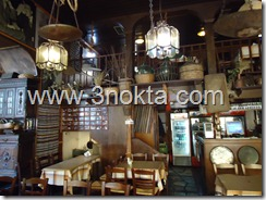 larissa yunanistan ladokola restaurant iç mekan