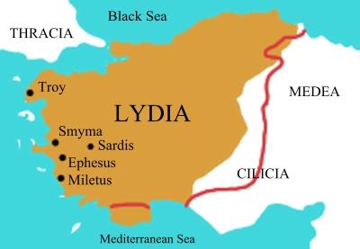 Lidyalılar Anadolu da