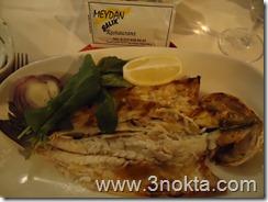 meydan restaurant kumkapı balık sunumu