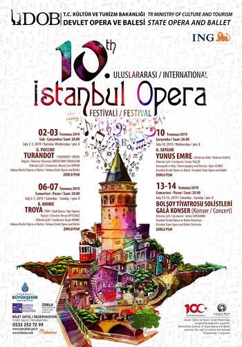 opera festival afişi