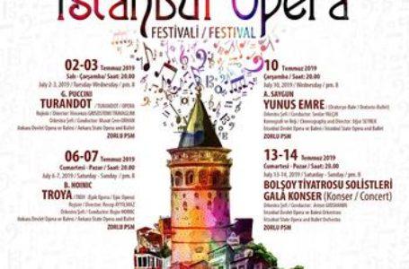 Turandot ve 10. İstanbul Opera  Festivali