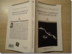 sırbistan üzerinde beyaz kartallar Lawrence Durrell kitap yorum