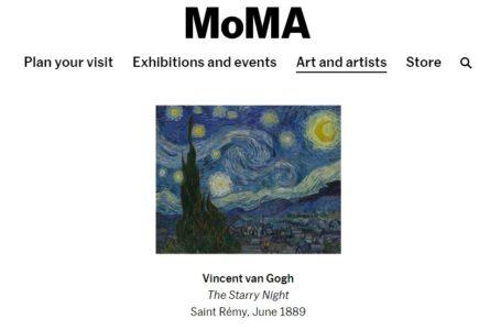 Starry Night (Yıldızlı Gece)… Van Gogh