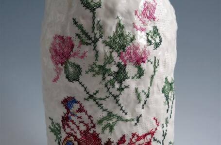 Nakış ve Porselen Füzyonu