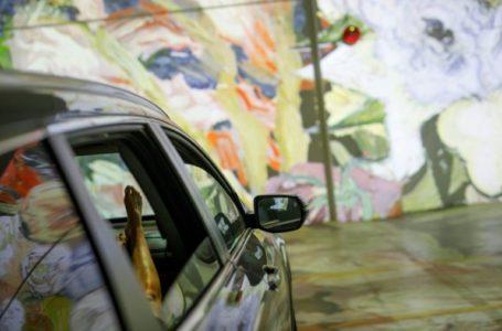 Arabadan İnmeden Van Gogh Sergisi