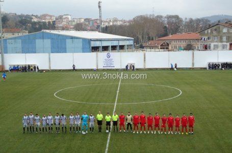 """Sarıyer-Çankırı Belediye 2.Lig maçı, """"Messi Göksel…Messi Göksel…"""""""