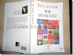 paul auster kış günlüğü can yayınları kitap yorum