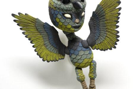 Seramik Kuş Heykeller