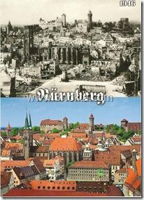 ikinci dünya savaşı öncesi ve sonrası Nünberg şehri almanya)