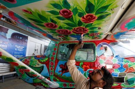 Pakistan Süsleme Sanatı