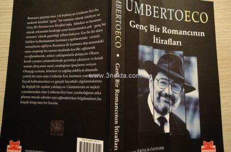 Genç Bir Romancının Itirafları, Umberto Eco, Kitap-Yorum