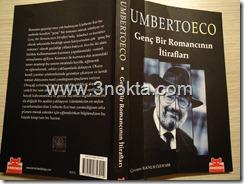 umberto eco, genç bir romancının itirafları