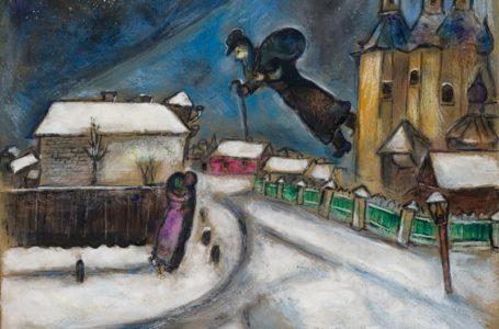Marc Chagall ilk defa (?) Istanbul da (Pera Müzesi)