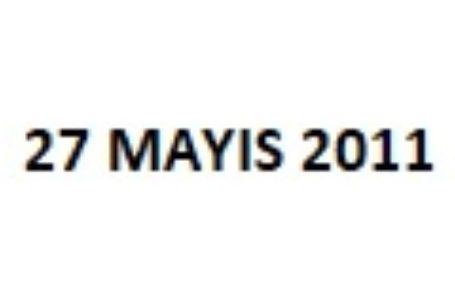 27 Mayıs