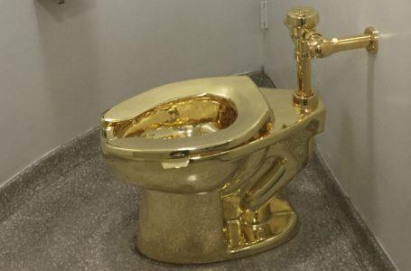 Altın tuvalet Türkiye'ye gelir mi?